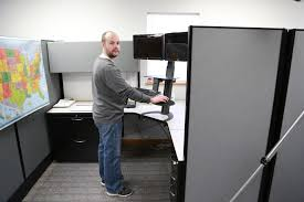 Dual Monitor Standing Desk Attachment by Looking To Buy A New Standing Desk Furniture U0026 Home Design Ideas