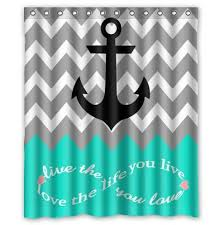 Gray Chevron Bathroom Set by Trend Of Grey And Turquoise Curtains And 25 Best Chevron Bathroom