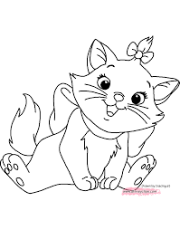 Aristocats Colouring Pages Kids Coloring