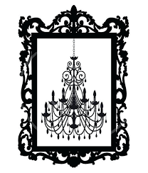 570x665 Free White Chandelier Clip Art Vintage In Antique