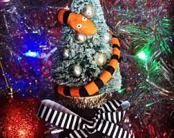 Nightmare Before Christmas Tree Toppers Bauble Set by Gothic Christmas Etsy