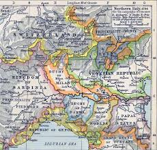Map Of Northern Italy 1796 1805