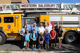 Elementary School Students Catch A Ride On Fire Truck Salisbury ... Paw Patrol Fire Truck 6 Volt Powered Ride On Toy By Kid Trax Fisherprice Power Wheels Paw Battery Powered Rideon Vintage Kids Babystyle Hook Ladder Classic New Electric Engine On Car Lisbon Student Earn A Ride Fire Truck News Sports Jobs 6v Toddler Quad Fisher Price In Dunfermline Fife Gumtree Vilac Wooden 2 In 1 Toddlers 18 Months Red 26095 All Things For Vehicles Sportrax Big Rig Rescue 4wd Marshall