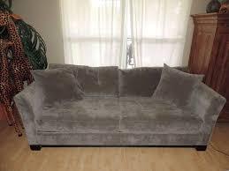 macy s elliot graphite microfiber sleeper sofa bed we shipa