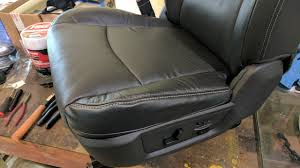 RAM 2500/3500 Laramie Leather Seat Cover Replacement - YouTube Leather Seat Covers Upholstery 2006 Dodge Ram 2500 8lug Magazine Ford Truck By Clazzio Bestfh Car Suv Pu Cushion Rear Bench Truck Seat Covers Lvo Fh4 Burgundyblack Eco Leather Front Bucket Black Man Tgx Tgs Redtoffee Fh Group Highback Textured For Sedan Van 5 Full Set Truck Leather Seat Covers Truckleather Luxury Supports Cover Microfiber