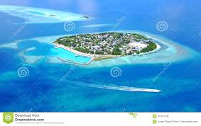 100 Rasdhoo Atoll Maldives Aerial Flying Drone View Of White Sandy Beach On