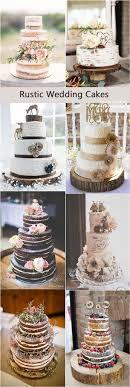 Rustic Country Wedding Cakes Deerpearlflowers