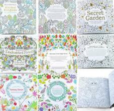 Secret Garden Painting Books Lost Ocean Time Travel Wonderland Exploration Mandolas Coloring Relieve Stress Colouring