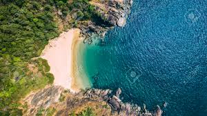 100 Butterfly Beach Beauty Aerial View Landscape Goa Touristic State