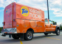 Procter & Gamble Brings Relief To Residents Affected By Hurricane ... Flood Victims Welcome Salvation Army Laundry Truck Canvas Elevated Truck Permanent Style 3 Bu Steele Basket Corp Mobile Laundry Trailer Rentals Mounted Photograph Depicting A With An African Homeless Rolls Out In Denver Textile Morgan Olson Cleans Clothes For Homeless Free Of Charge Here Is The 500mile 800pound Allelectric Tesla Semi Tide Rolls Harvey Steemit Bulk Delivery Service Large Carts Ramp Distribution Five New Food Trucks La Worth Trying Taco Cape Girardeau History And Photos