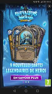 Overload Shaman Deck Frozen Throne by Mage U0027s Death Knight Hero Card Leaked Hearthstone Top Decks