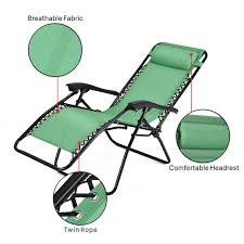 China Anti Gravity Outdoor Lounge Patio Folding Chair ...