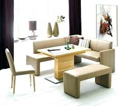 Dining Room Table With Storage Corner Bench Set