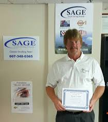 100 Sage Trucking School Congratulations Terrence Taylor CDL Truck Driving S
