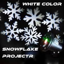 New Xmas Outdoor Waterproof Snowflake Laser Light Garden Projector