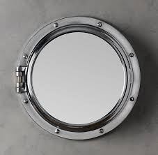 royal naval porthole mirrored medicine cabinet