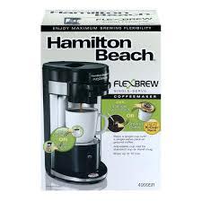 Hamilton Beach Flexbrew K Cup Flex Brew Single Serve Coffeemaker Coffee Maker