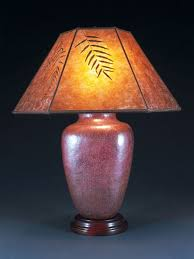 Mica Lamp Shade Replacement by Large Copper Table Lamp Mica Lamp Shade Sue Johnson Custom