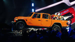 100 4 Door Jeep Truck LA Auto Show The 2020 Gladiator Pickup Is A Wrangler That