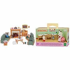 epoch 5037 sylvanian familie deluxe wohnzimmer möbel set