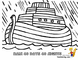 Noah Coloring Pages And The Ark Noahs Lds