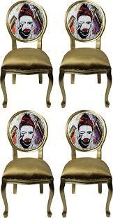 pompöös by casa padrino luxus barock esszimmerstühle gold mehrfarbig 50 x 60 x h 104 cm pompööse barock stühle designed by harald glööckler 4