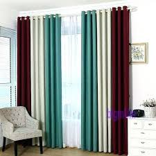 Blue Ombre Curtains Walmart by Teal Blackout Curtains U2013 Teawing Co