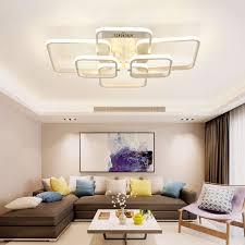 led dimmbare deckenleuchte wohnzimmerle mit fernbedienung