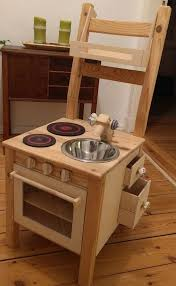 foto in ikea ivar kinder spiel küche aus stuhl hack