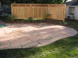 Flagstone patio designs patio privacy fence ideas outdoor patio