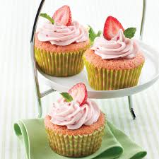 Pink A Licious Strawberry Cupcakes
