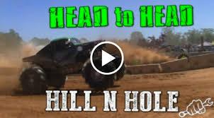 100 Mega Truck Racing MEGA TRUCK HILL N HOLE HEAD TO HEAD At SLOPOKE Speed Society