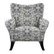 Natalia Mavier Blue Floral Fabric And Wood Accent Chair ... Coaster Fniture Off White French Script Accent Chair Adwisly Amazoncom Safavieh Normal Offwhite Samdecors Sky Wing Off Design Lounge Cafetaria Patio Solid Wood Walnut Finish Legs Trends And Adele Country Myco 8762 8760 Rustic Cotton Arm Oadeer Home Kitchen Ding Casual Couture High Line Collection Alena Polyester Blend