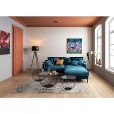 Sofa Cubetto Samt Braun 25 Sitzer