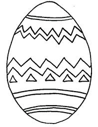 Small Size Egg Color Page Easter Coloring Pages Free Printable Giant Sheet Full