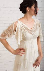 Casual Wedding Dress Simple Rustic Vintage
