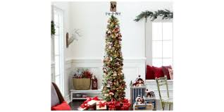 7ft Christmas Tree Pre Lit by 17 Christmas Tree 7ft Pre Lit 120led 2 1m 7ft Silver Birch