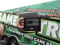 Game Truck Trailer External TV Installation At OCRV Paint And ... Game On Tylers Video Truck Party Plus A Minecraft Freebie Maryland Therultimate Rolling Party In The Towns And Ultimate Room Mr Columbus Ohio Mobile Laser Vault Perth Parties Kids Bus Gametruck Middlebury Booked Los Angeles Tag Birthday Tough Science The Changer Obstacle Course F150 Best Birthday Is Rock Our Cary North Carolina