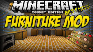 0 11 0 FURNITURE MOD Minecraft Pocket Edition