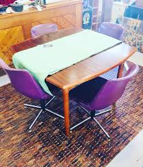 Purple Vinyl Chairs? A Retro Table?... - Whatever At Willunga ... Coaster Cleveland Retro 5 Piece Round Ding Table Upholstered And Chairs Set Fniture Clearance White Argos Chair Oxfordshire Outdoor Rimu And Chrome Fine Retro Drop Leaf Kitchen Tables Chairs Yellow 1950s Cracked Cool Dinettes Style Cadian Made Sets Vintage A Cafe With Wroclaw Poland Stock Room Kitchen Bar Stool Table Tables On Carousell Agreeable Antiques Atlas Formica Ugarelay Very Fashionable