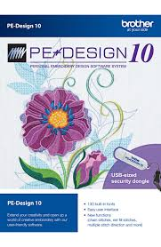 Brother s PE Design 10 Software
