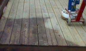 deck sanding and deck refinishing in the northern virginia area