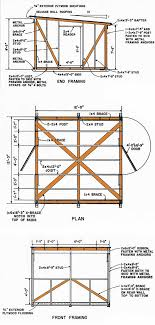 patric information plans for 8x12 storage shed