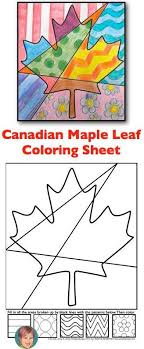 Free Interactive Coloring Sheet For My Canadian Friends Im Thinking You Could Fill
