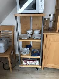 küchenregal rollbares regal ikea