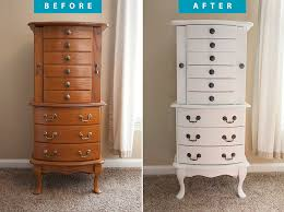 Jewelry Armoire Before And After - Use ECOS Paints Furniture Paint ... Shabby French Provincial Jewelry Armoire Chest Box Cream Vintage Floral Painted Design Jewelry Armoires Chelsea Armoire Espresso Hives And Honey Decor Therapy Mirrored Armoirefr6364 The Home Depot In A Light Green Tint Finish Ikea Canada Modern White Faedaworkscom Innovation Mirror Silver Glass Stealasofa Fniture Outlet Los Do Woodworking Lingerie Chest Complete Chic Antique Distressed Pink Abby Ivory