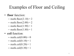 Mathceil Python 3 by Csci Cmpe 4341 Topic Programming In Python Chapter 5 Functions