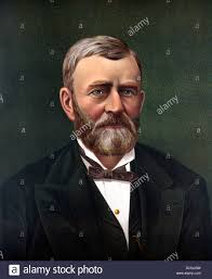 Digitally Restored Color Portrait Of President Ulysses S Grant