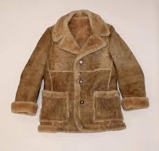 Vintage Mens Full Shearling Coat