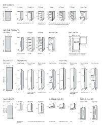 Kitchen Cabinet Standard Size Awesome Dimensions Perfect Interior Design Plan With Ideas About
